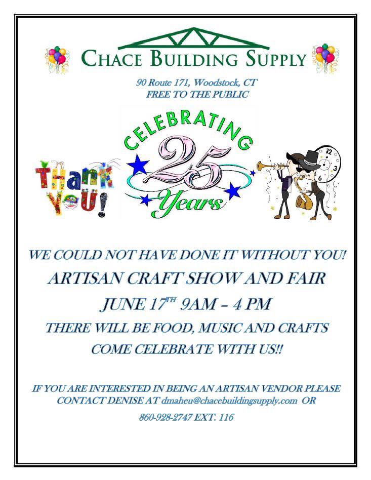 Chace Building Supply Willington Ct