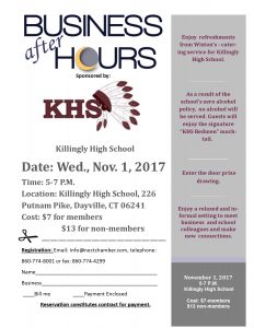 Killingly High School Business after Hours @ Killingly High School  | Killingly | Connecticut | United States