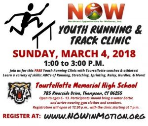 NOW- Youth Running & Track Clinic @ Tourtellotte Memorial High School | Thompson | Connecticut | United States