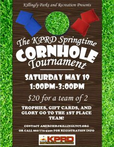 Killingly Parks and Recreation- Cornhole Tournament @ Killingly Community Center | Killingly | Connecticut | United States