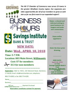 NEW- Savings Institute Bank & Trust Business after Hours