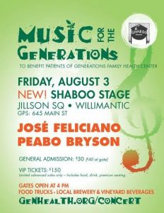 Music for the Generations @ SHABOO | Windham | Connecticut | United States
