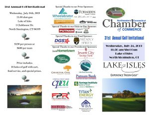 NCCC's 31st Annual Golf Invitational @ Lake of Isles