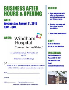 Windham Hospital Business After Hours @ Windham Hospital