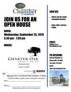 Join us for an Open House! @ Charter Oak Credit Union