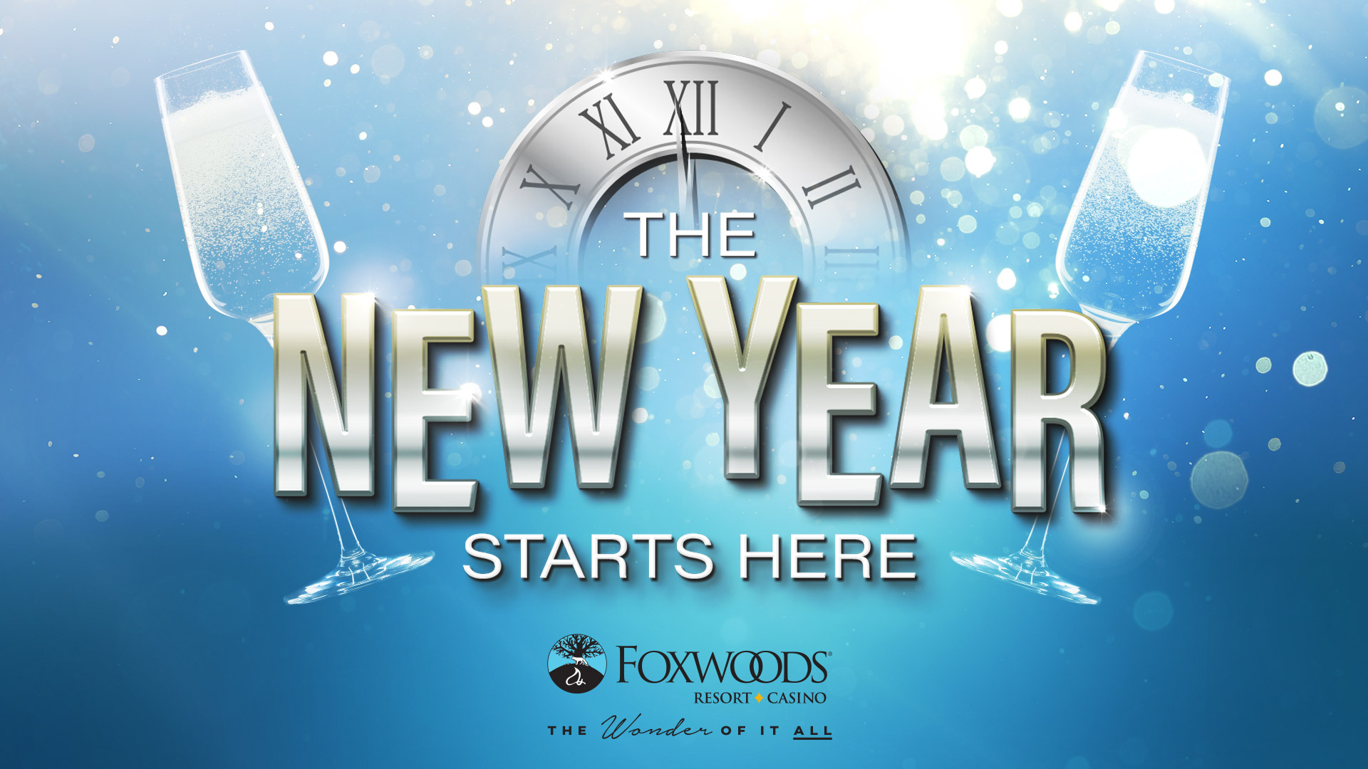 New Year's Eve at Foxwoods Resort Casino