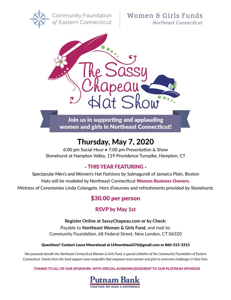 The Sassy Chapeau Hat Show @ StoneHurst at Hampton Valley