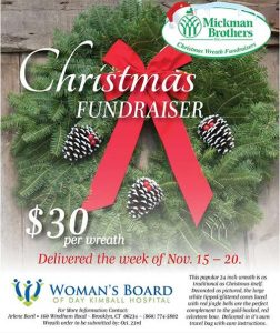 Woman's Board of Day Kimball Hospital - Wreath Sale